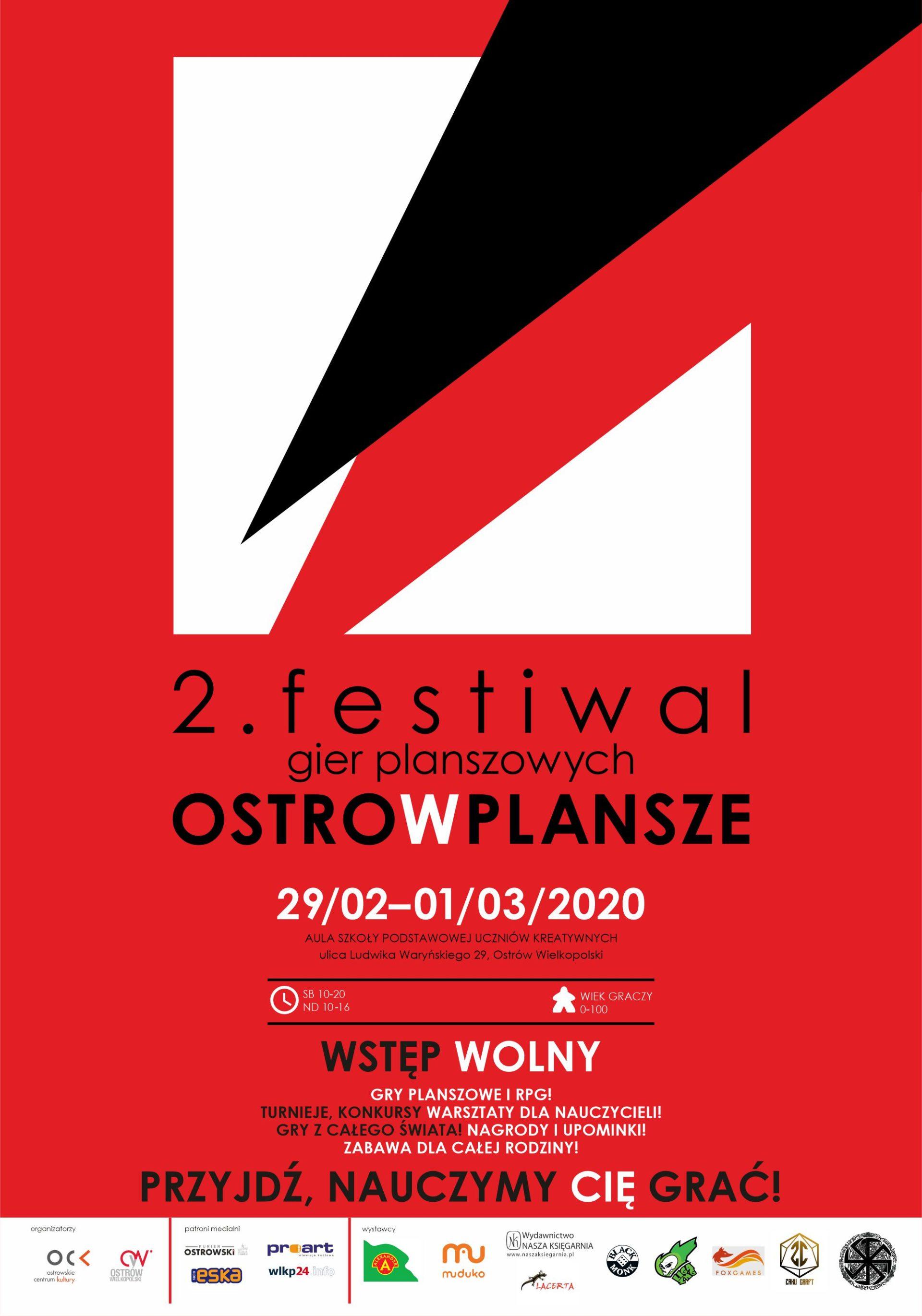 2. Festiwal Gier Planszowych OSTROwPLANSZE