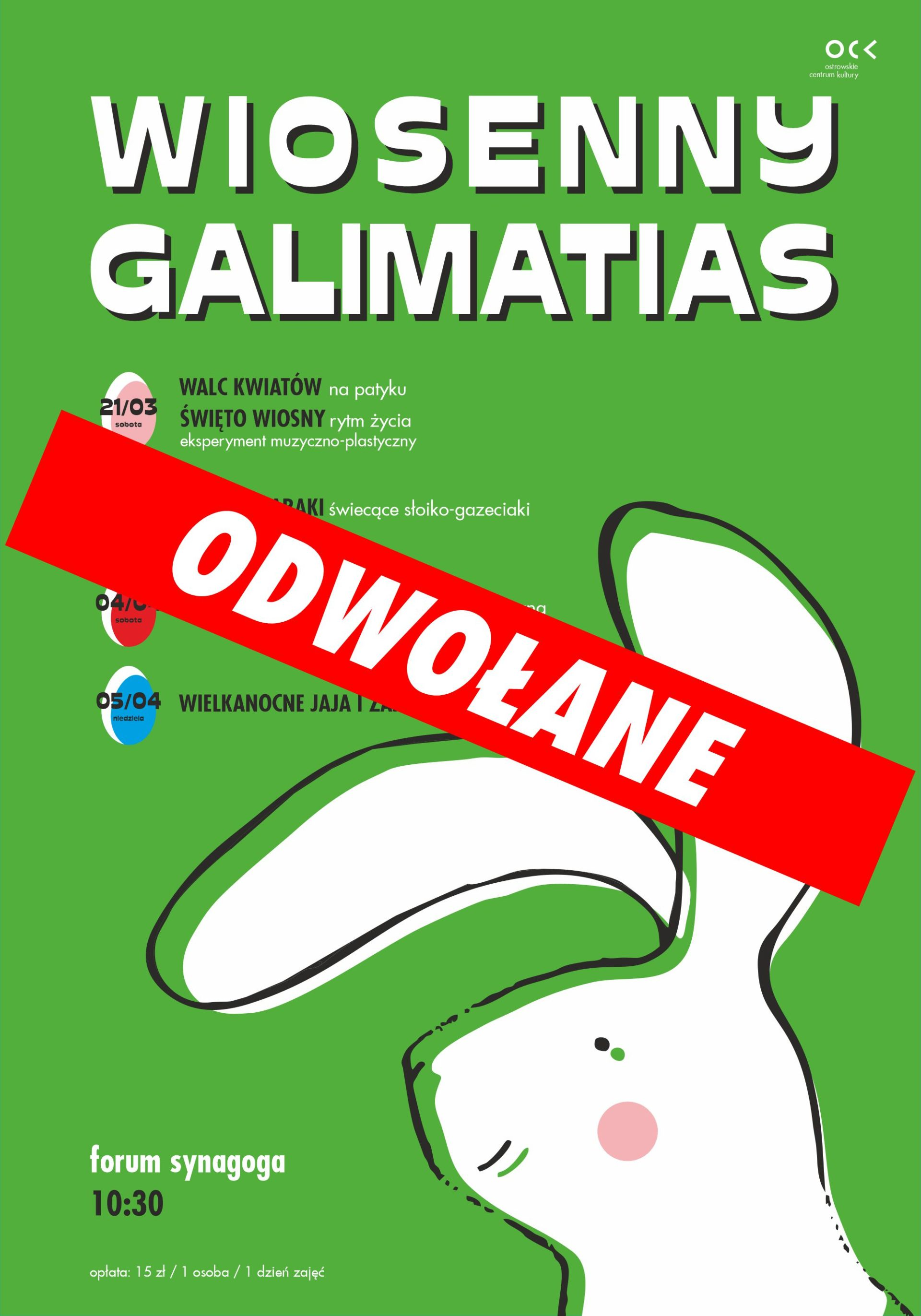 WIOSENNY GALIMATIAS