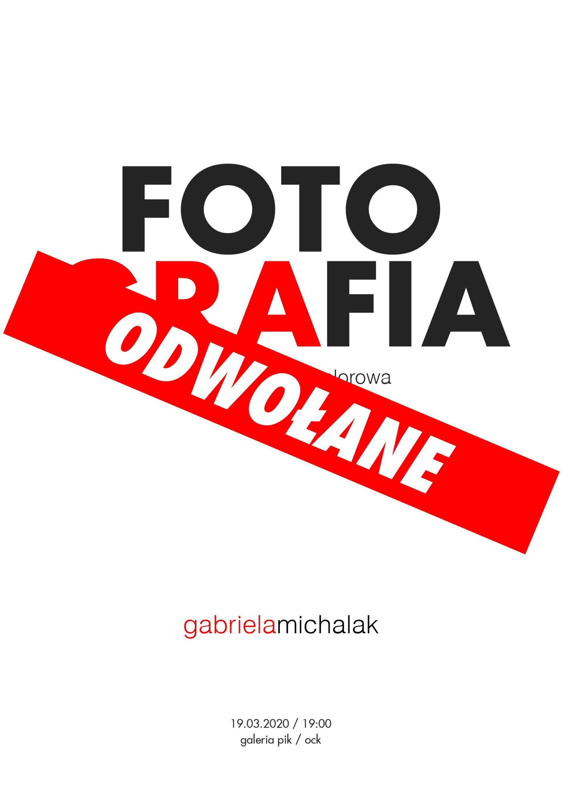 Gabriela Michalak | Fotografia – czarno-biała czy kolorowa