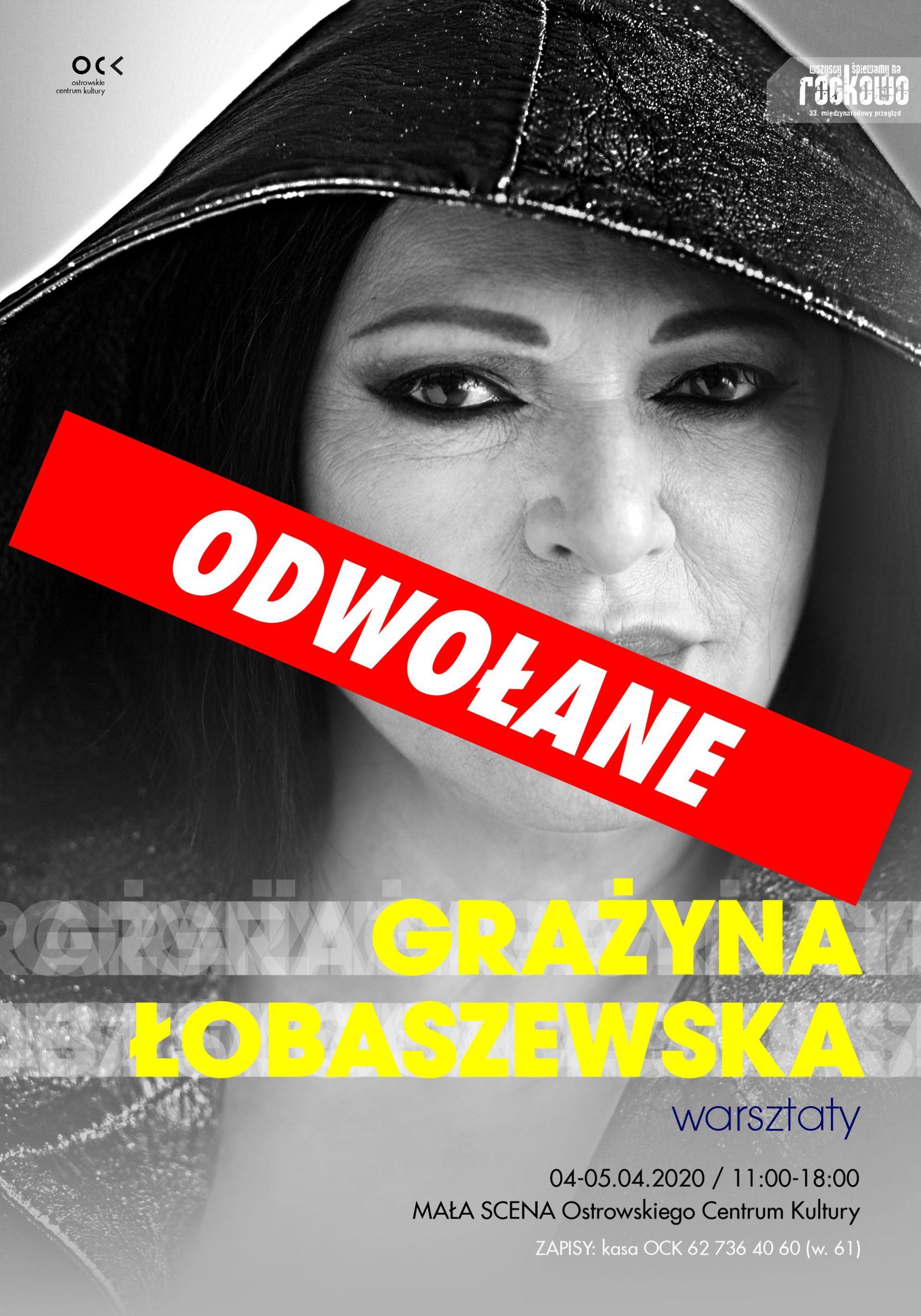 33. WŚnR | Grażyna Łobaszewska – warsztaty wokalne