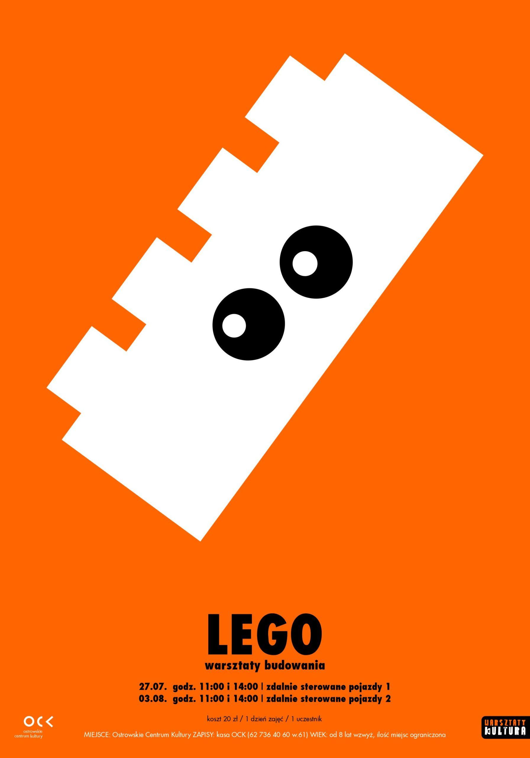 WARSZTATY Z KULTURĄ   LEGO