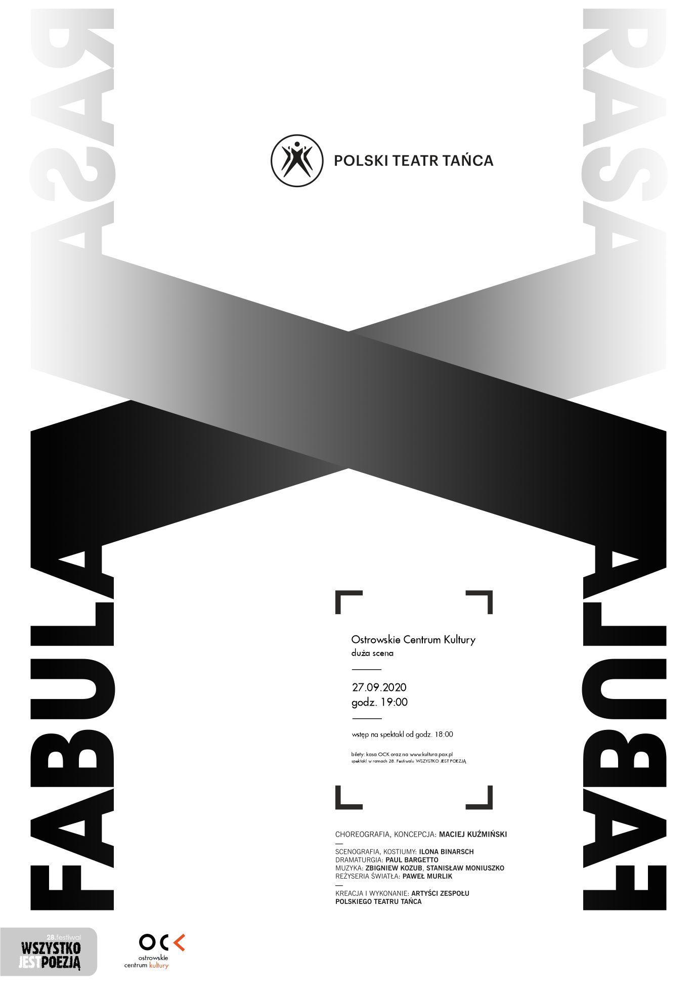 Polski Teatr Tańca  FABULA RASA