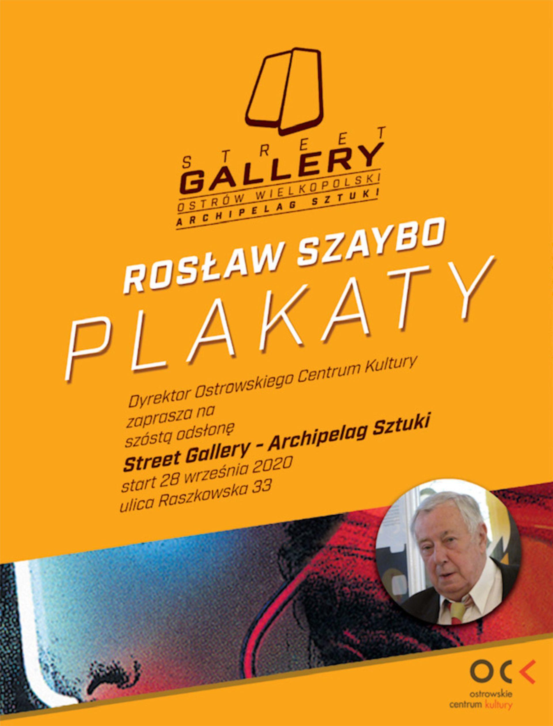 Rosław Szaybo | Plakaty | Street Gallery Archipelag Sztuki