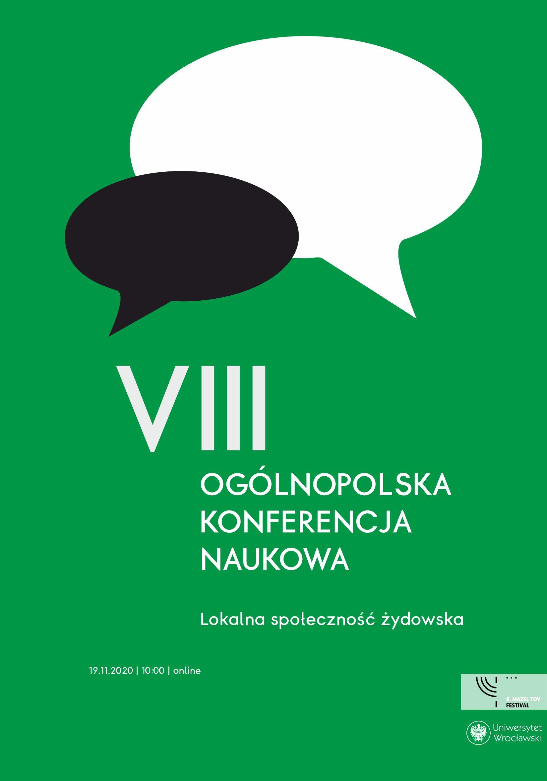8. MAZEL TOV FESTIVAL | VIII Ogólnopolska Konferencja Naukowa | online
