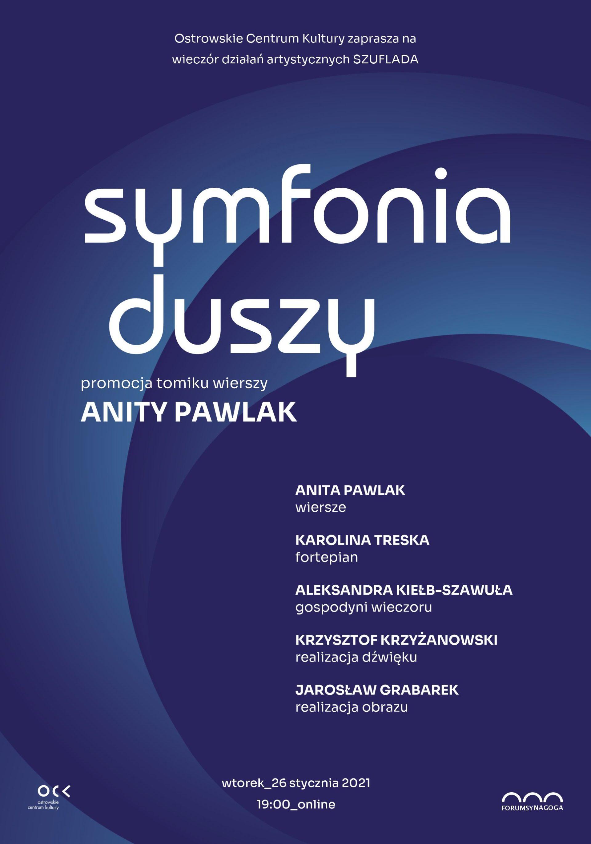 Symfonia duszy | Anita Pawlak | Wieczór działań artystycznych Szuflada | online