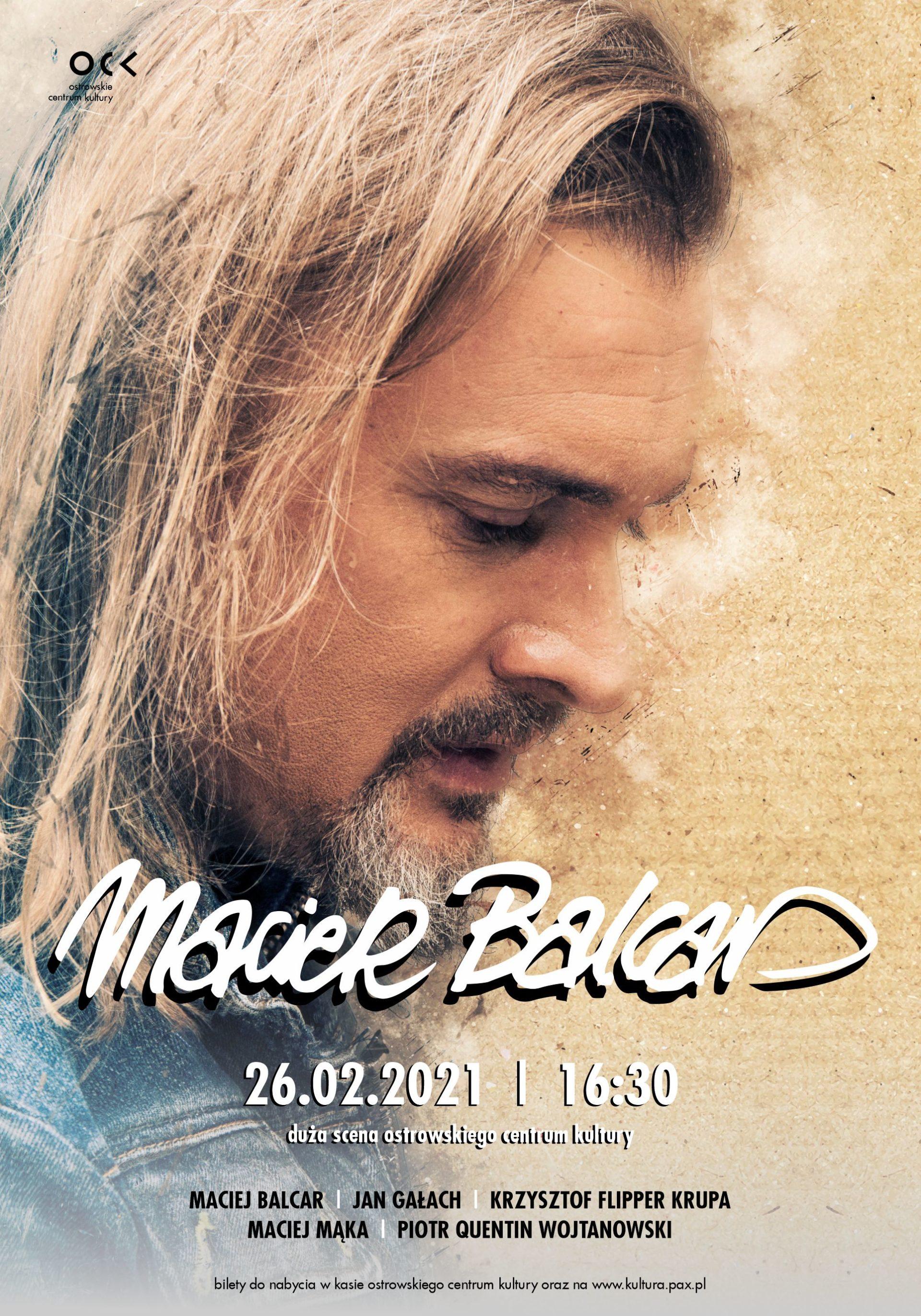 Maciek Balcar | dodatkowy koncert