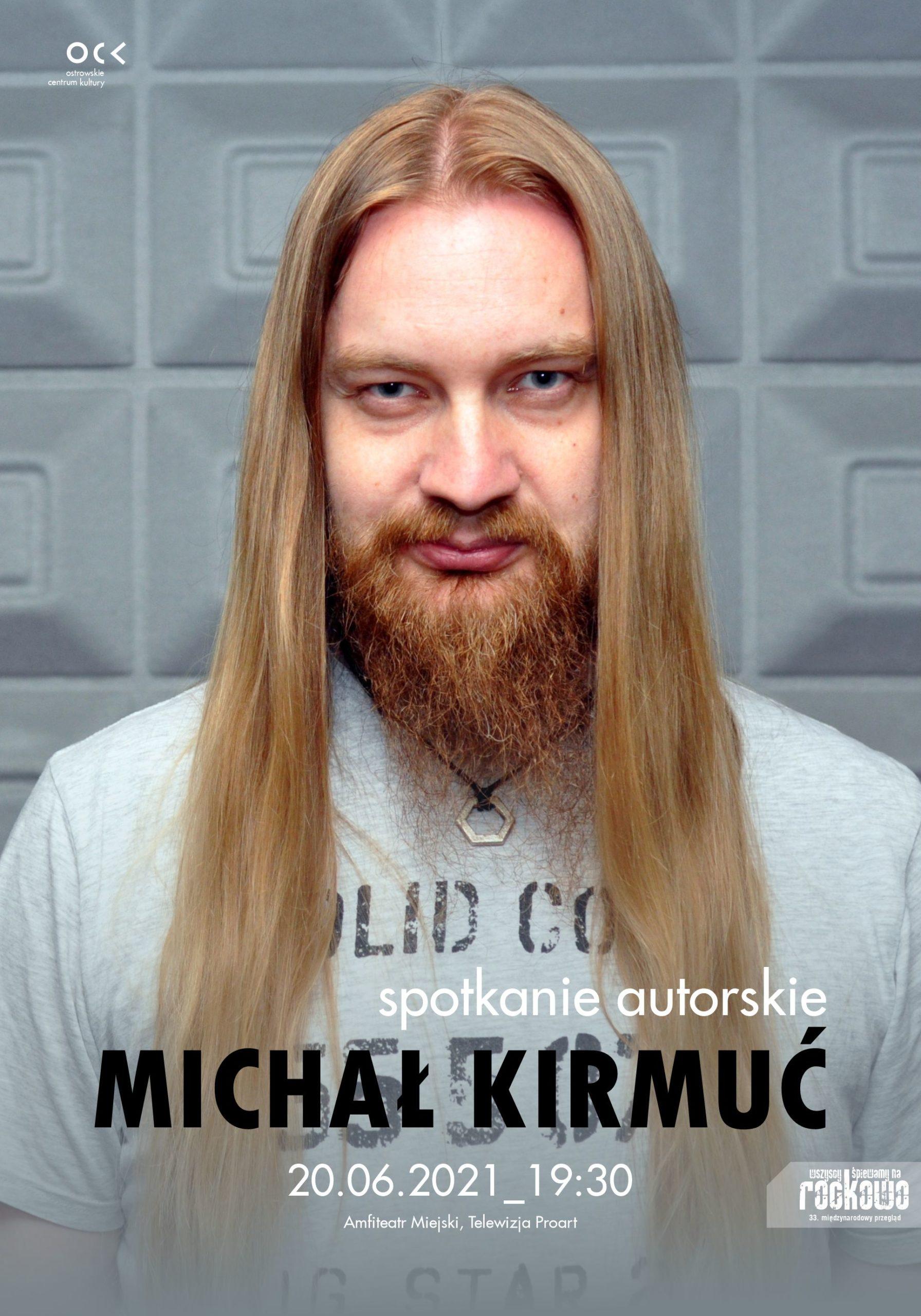 33. WŚnR | Michał Kirmuć | spotkanie autorskie