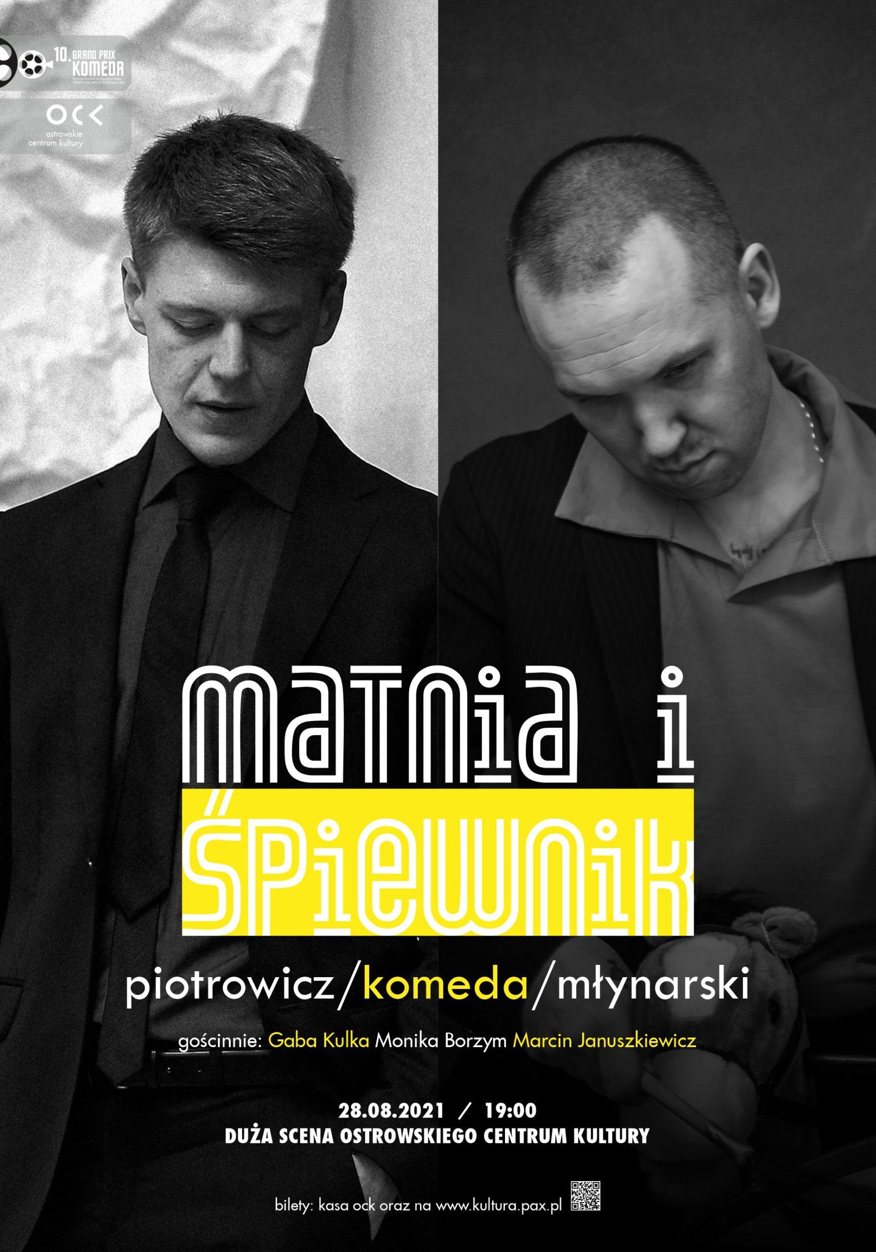 10.GPK   PIOTROWICZ / KOMEDA / MŁYNARSKI   MATNIA I ŚPIEWNIK