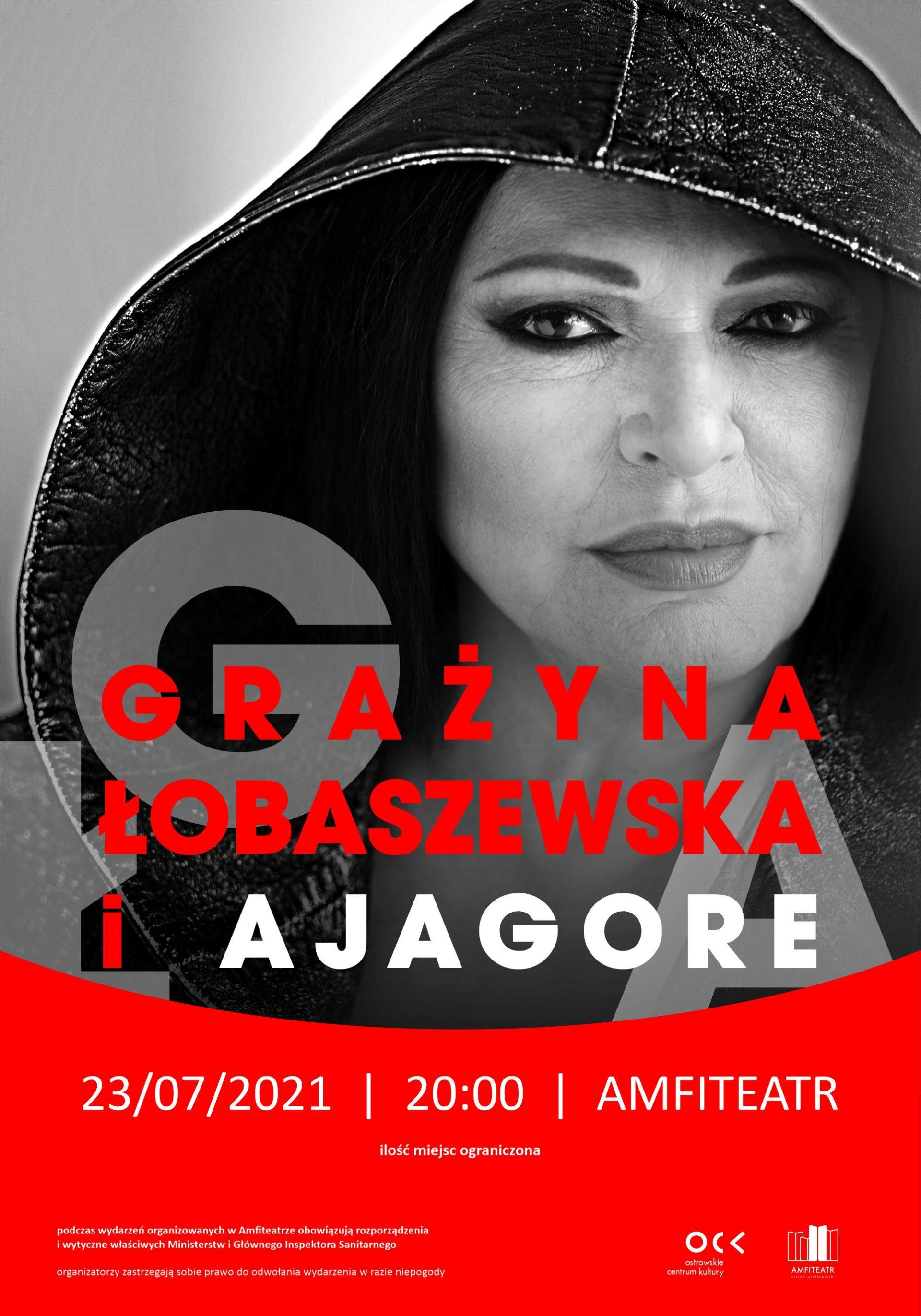 GRAŻYNA ŁOBASZEWSKA i AJAGORE | koncert