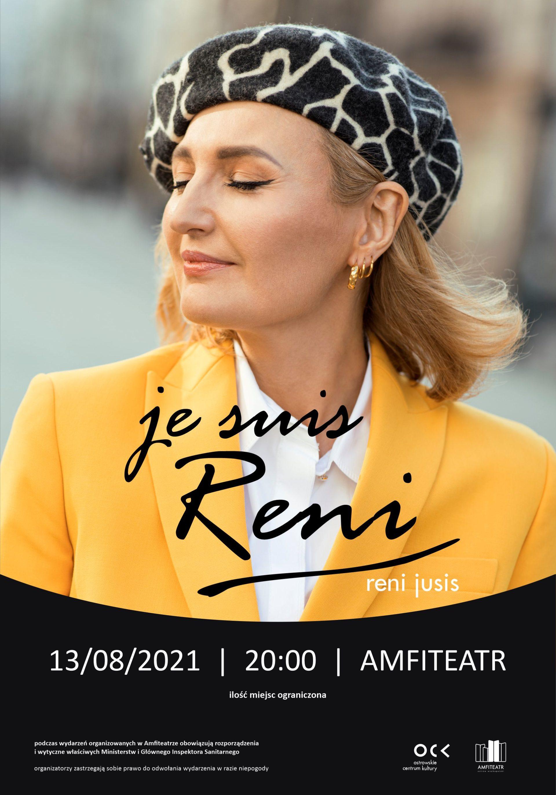 Reni Jusis | Je suis Reni | koncert