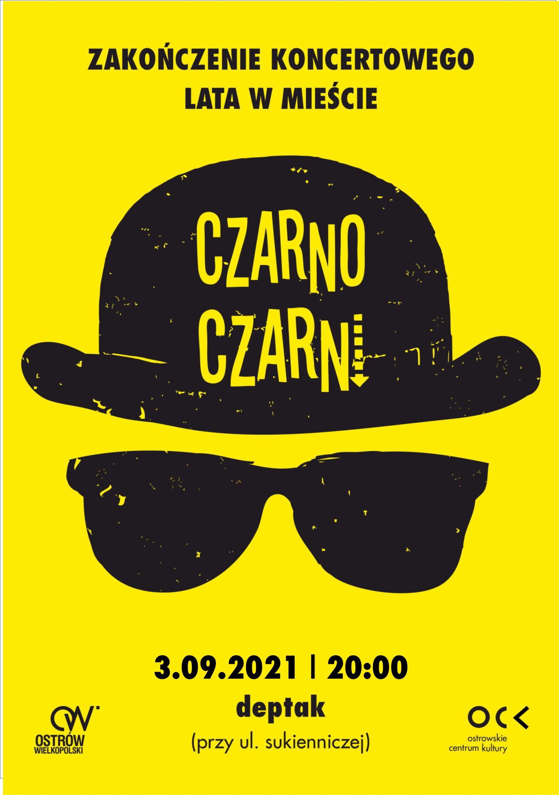 Czarno Czarni   Zakończenie koncertowego lata w mieście