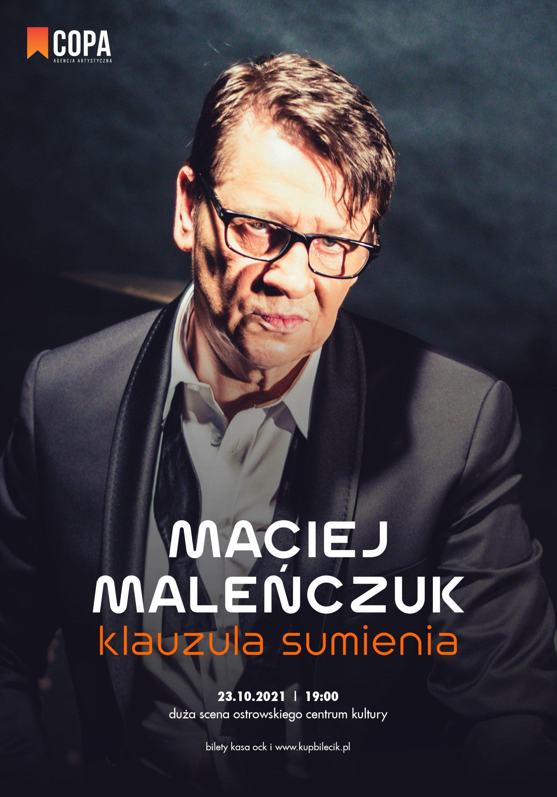Maciej Maleńczuk | Klauzula Sumienia