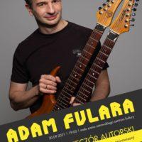 Adam Fulara | spotkanie i mini koncert