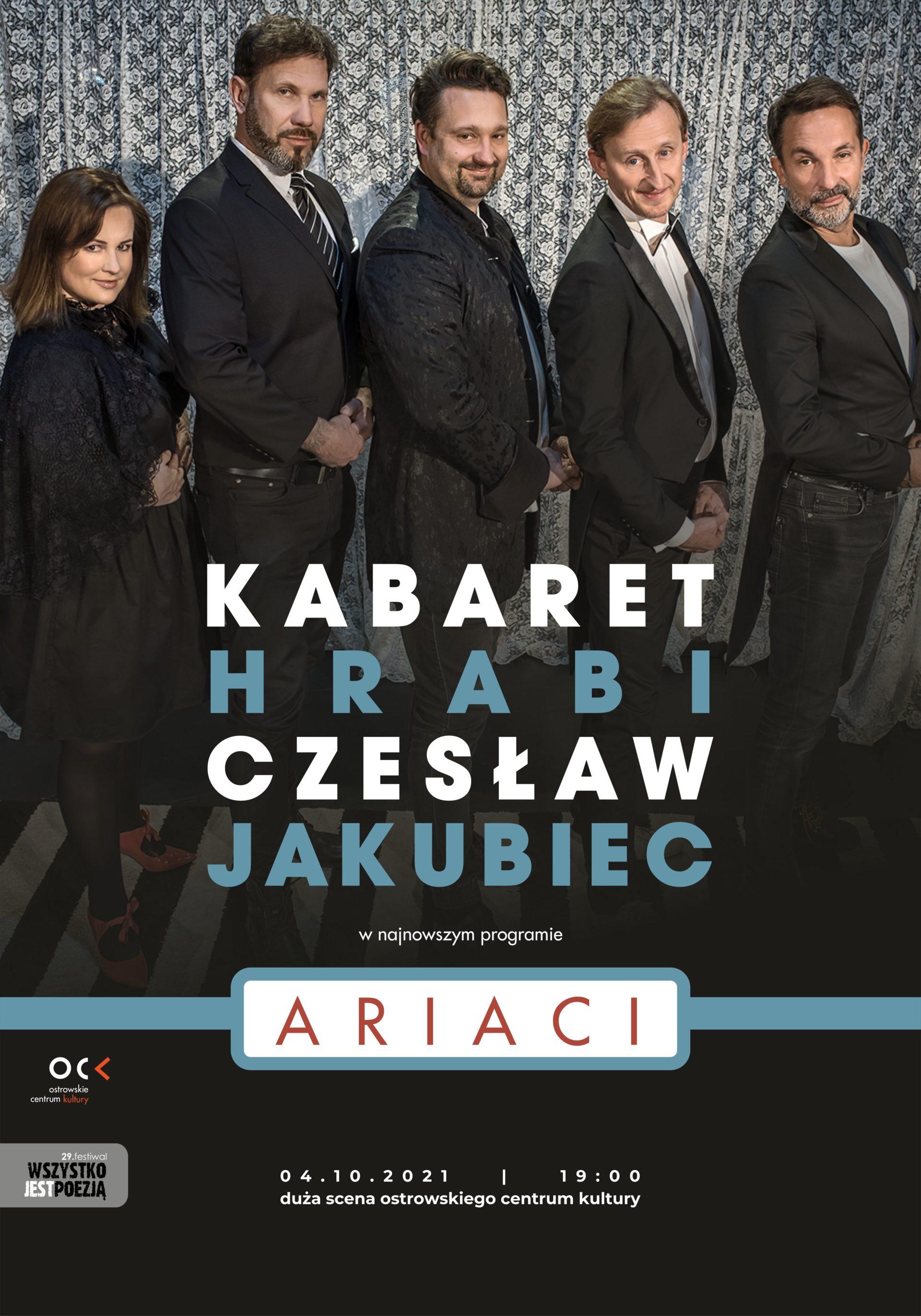 29.WJP   Kabaret Hrabi i Czesław Jakubiec. Ariaci
