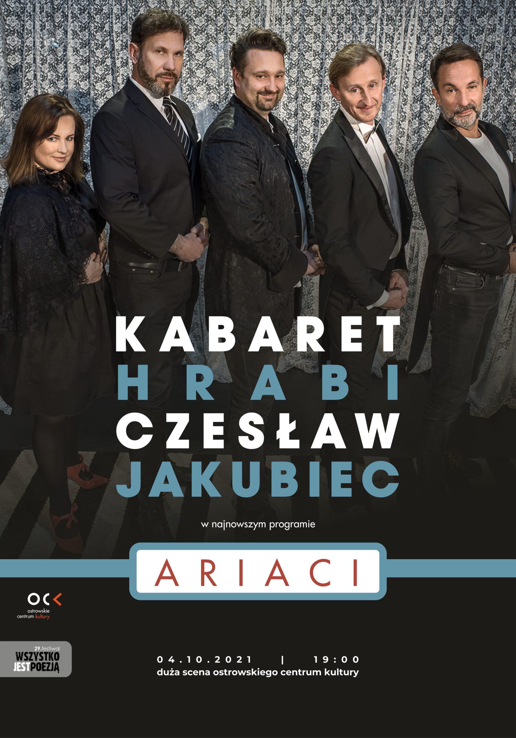 29.WJP | Kabaret Hrabi i Czesław Jakubiec. Ariaci