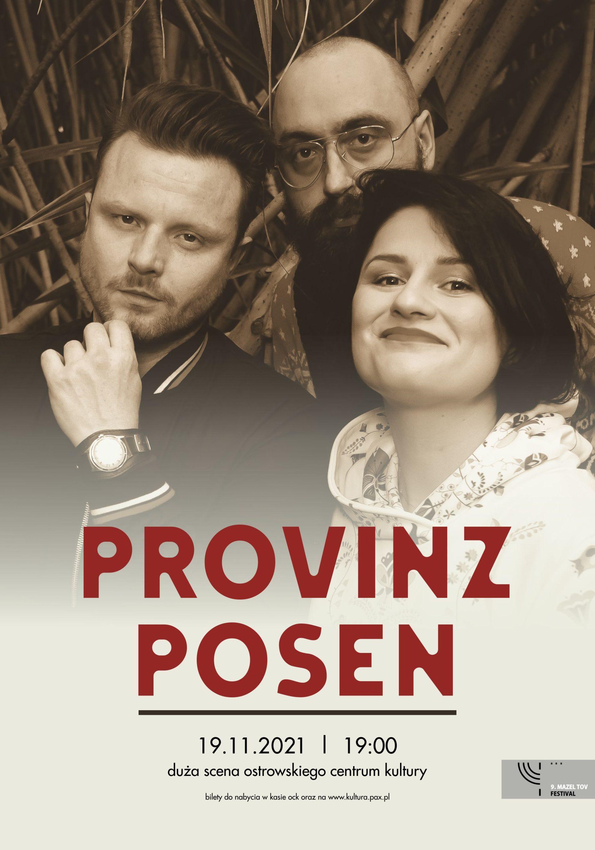 9. Mazel Tov Festival   Provinz Posen